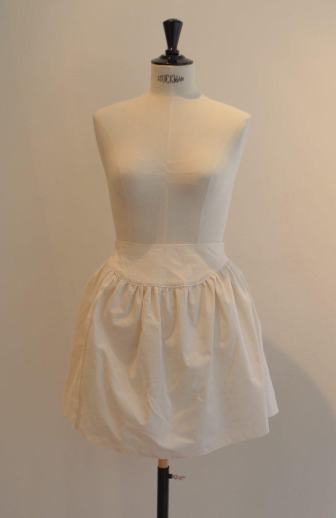 Jupe taille haute wax (prototype)