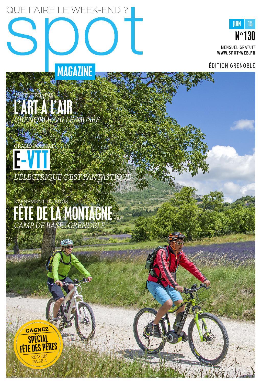 Spot magazine couverture juin 2015
