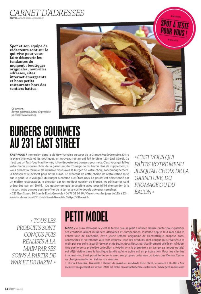 Spot magazine couverture juin 2015 page 44